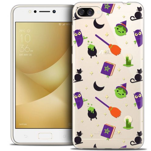 "Coque Crystal Gel Asus Zenfone 4 MAX ZC520KL (5.2"") Extra Fine Halloween - Witch Potter"