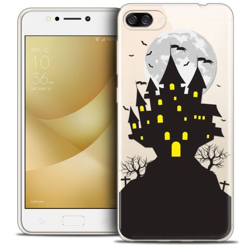 "Coque Crystal Gel Asus Zenfone 4 MAX ZC520KL (5.2"") Extra Fine Halloween - Castle Scream"