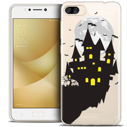"Coque Crystal Gel Asus Zenfone 4 MAX ZC520KL (5.2"") Extra Fine Halloween - Castle Dream"