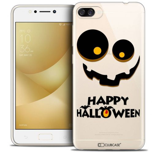 "Coque Crystal Gel Asus Zenfone 4 MAX ZC520KL (5.2"") Extra Fine Halloween - Happy"