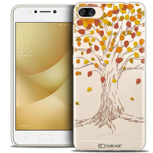 "Coque Crystal Gel Asus Zenfone 4 MAX ZC520KL (5.2"") Extra Fine Autumn 16 - Tree"