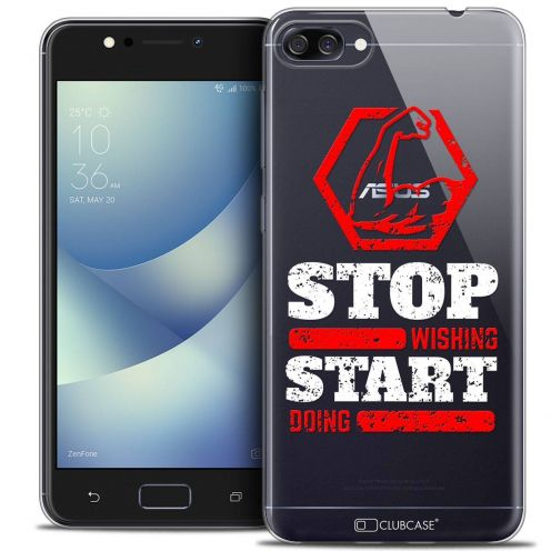 "Coque Crystal Gel Asus Zenfone 4 MAX ZC520KL (5.2"") Extra Fine Quote - Start Doing"