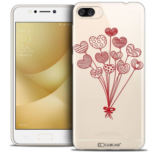 "Coque Crystal Gel Asus Zenfone 4 MAX ZC520KL (5.2"") Extra Fine Love - Ballons d'amour"