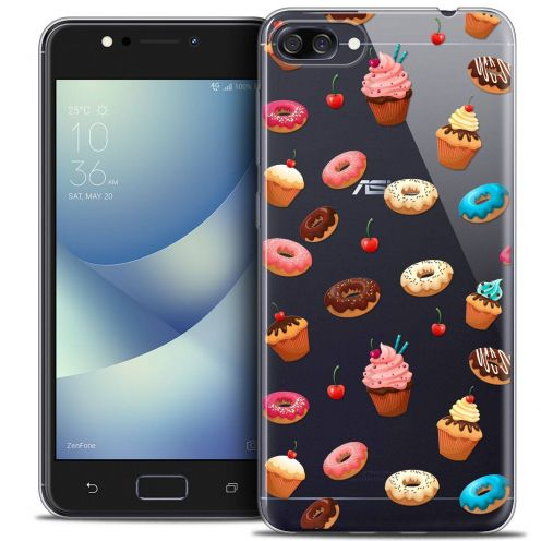 "Coque Crystal Gel Asus Zenfone 4 MAX ZC520KL (5.2"") Extra Fine Foodie - Donuts"