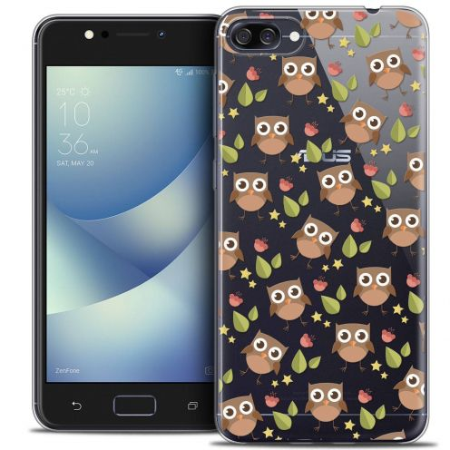 "Coque Crystal Gel Asus Zenfone 4 MAX ZC520KL (5.2"") Extra Fine Summer - Hibou"