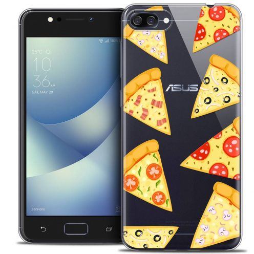 "Coque Crystal Gel Asus Zenfone 4 MAX ZC520KL (5.2"") Extra Fine Foodie - Pizza"
