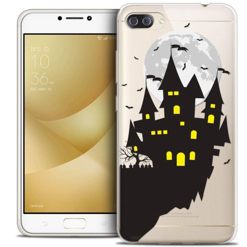 "Coque Crystal Gel Asus Zenfone 4 MAX PLUS / Pro ZC554KL (5.5"") Extra Fine Halloween - Castle Dream"