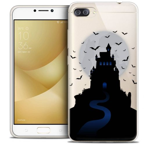 "Coque Crystal Gel Asus Zenfone 4 MAX PLUS / Pro ZC554KL (5.5"") Extra Fine Halloween - Castle Nightmare"