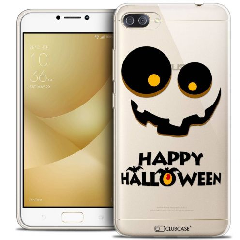 "Coque Crystal Gel Asus Zenfone 4 MAX PLUS / Pro ZC554KL (5.5"") Extra Fine Halloween - Happy"