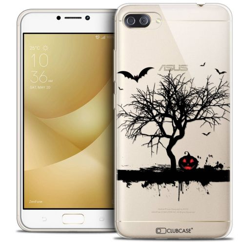 "Coque Crystal Gel Asus Zenfone 4 MAX PLUS / Pro ZC554KL (5.5"") Extra Fine Halloween - Devil's Tree"