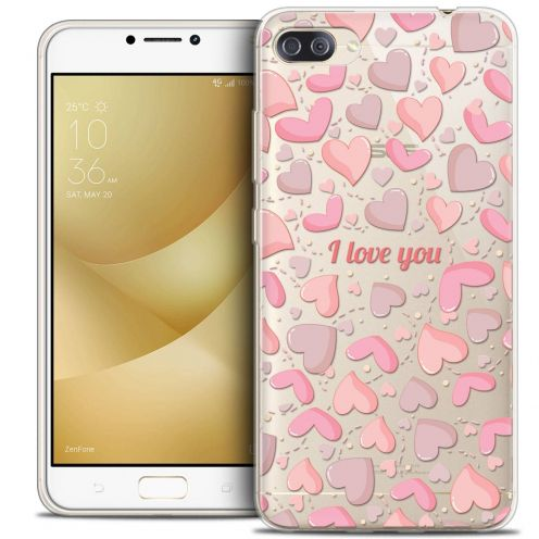 """Coque Crystal Gel Asus Zenfone 4 MAX PLUS / Pro ZC554KL (5.5"""") Extra Fine Love - I Love You"""