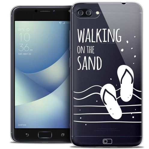 "Coque Crystal Gel Asus Zenfone 4 MAX PLUS / Pro ZC554KL (5.5"") Extra Fine Summer - Walking on the Sand"