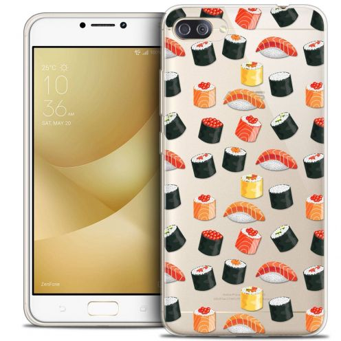 """Coque Crystal Gel Asus Zenfone 4 MAX PLUS / Pro ZC554KL (5.5"""") Extra Fine Foodie - Sushi"""