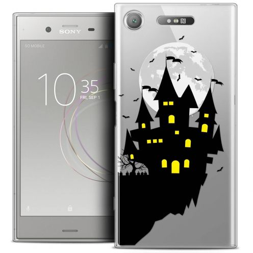 "Coque Crystal Gel Sony Xperia XZ1 (5.2"") Extra Fine Halloween - Castle Dream"