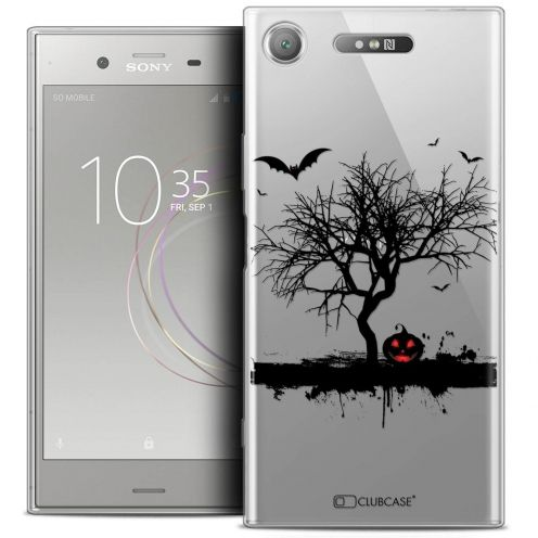 "Coque Crystal Gel Sony Xperia XZ1 (5.2"") Extra Fine Halloween - Devil's Tree"