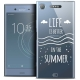 "Coque Crystal Gel Sony Xperia XZ1 (5.2"") Extra Fine Summer - Life's Better"