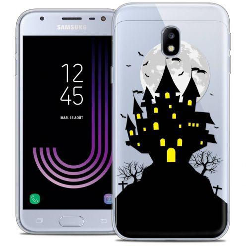 """Coque Crystal Gel Samsung Galaxy J3 2017 J320 (5"""") Extra Fine Halloween - Castle Scream"""