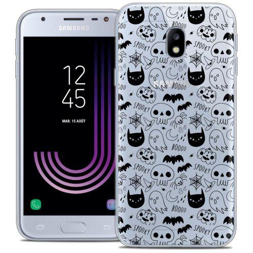 "Coque Crystal Gel Samsung Galaxy J3 2017 J320 (5"") Extra Fine Halloween - Spooky"