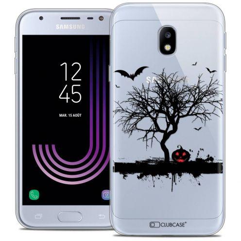 "Coque Crystal Gel Samsung Galaxy J3 2017 J320 (5"") Extra Fine Halloween - Devil's Tree"