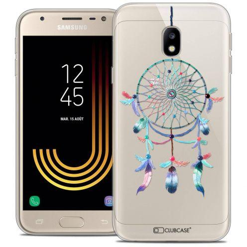 """Coque Crystal Gel Samsung Galaxy J3 2017 J320 (5"""") Extra Fine Dreamy - Attrape Rêves Rainbow"""