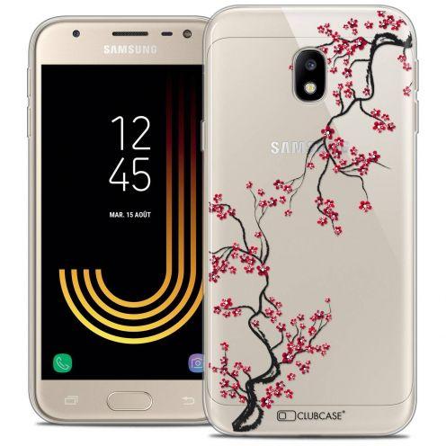 "Coque Crystal Gel Samsung Galaxy J3 2017 J320 (5"") Extra Fine Summer - Sakura"