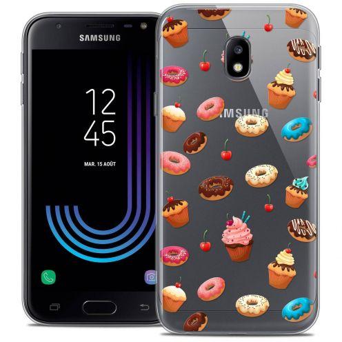 "Coque Crystal Gel Samsung Galaxy J3 2017 J320 (5"") Extra Fine Foodie - Donuts"