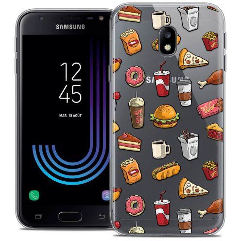 """Coque Crystal Gel Samsung Galaxy J3 2017 J320 (5"""") Extra Fine Foodie - Fast Food"""