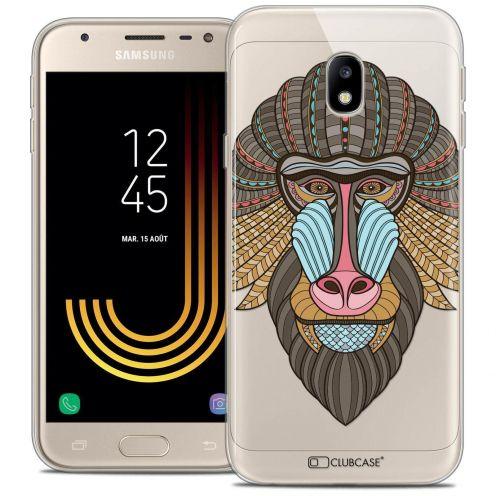 "Coque Crystal Gel Samsung Galaxy J3 2017 J320 (5"") Extra Fine Summer - Babouin"
