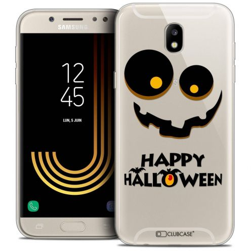 "Coque Crystal Gel Samsung Galaxy J5 2017 J530 (5.2"") Extra Fine Halloween - Happy"