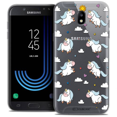 "Coque Crystal Gel Samsung Galaxy J5 2017 J530 (5.2"") Extra Fine Fantasia - Licorne In the Sky"