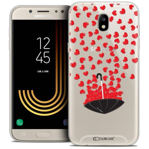 "Coque Crystal Gel Samsung Galaxy J5 2017 J530 (5.2"") Extra Fine Love - Parapluie d'Amour"