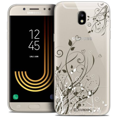 "Coque Crystal Gel Samsung Galaxy J5 2017 J530 (5.2"") Extra Fine Love - Hearts Flowers"
