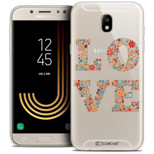 "Coque Crystal Gel Samsung Galaxy J5 2017 J530 (5.2"") Extra Fine Summer - Love Flowers"