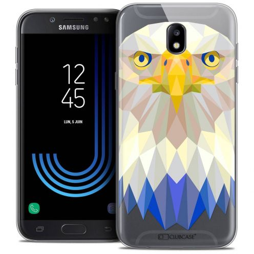 "Coque Crystal Gel Samsung Galaxy J5 2017 J530 (5.2"") Extra Fine Polygon Animals - Aigle"