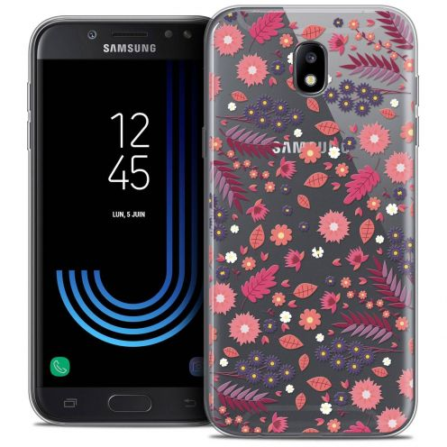 "Coque Crystal Gel Samsung Galaxy J5 2017 J530 (5.2"") Extra Fine Spring - Printemps"