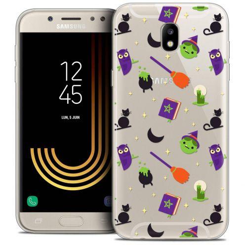 "Coque Crystal Gel Samsung Galaxy J7 2017 J730 (5.5"") Extra Fine Halloween - Witch Potter"