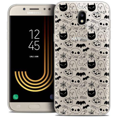 "Coque Crystal Gel Samsung Galaxy J7 2017 J730 (5.5"") Extra Fine Halloween - Spooky"