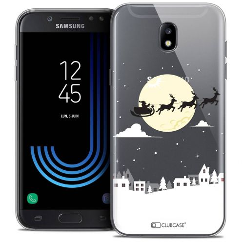 "Coque Crystal Gel Samsung Galaxy J7 2017 J730 (5.5"") Extra Fine Noël 2017 - Flying Stanta"