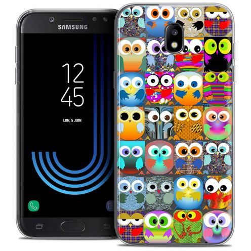 "Coque Crystal Gel Samsung Galaxy J7 2017 J730 (5.5"") Extra Fine Claude - Hibous"