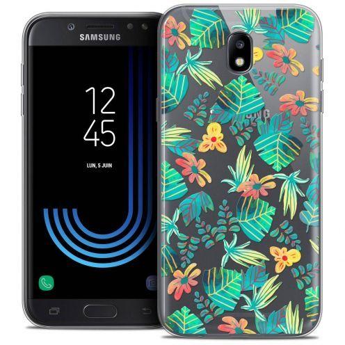 """Coque Crystal Gel Samsung Galaxy J7 2017 J730 (5.5"""") Extra Fine Spring - Tropical"""