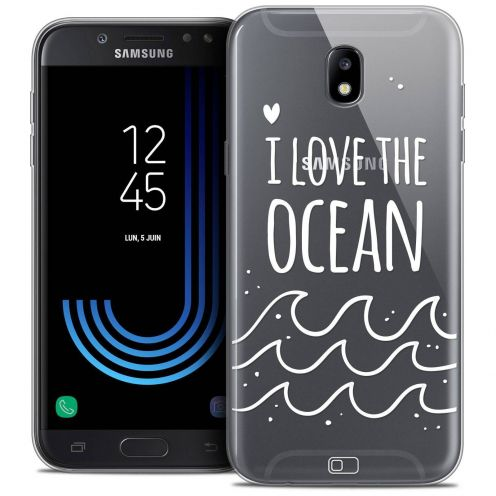 "Coque Crystal Gel Samsung Galaxy J7 2017 J730 (5.5"") Extra Fine Summer - I Love Ocean"