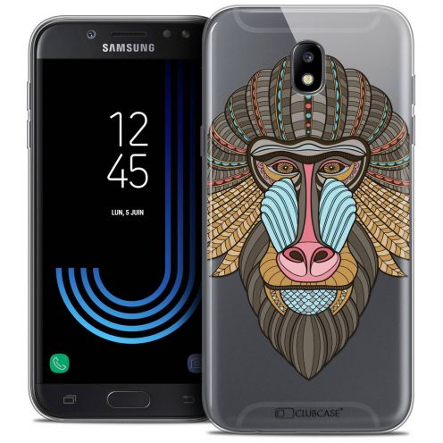 "Coque Crystal Gel Samsung Galaxy J7 2017 J730 (5.5"") Extra Fine Summer - Babouin"