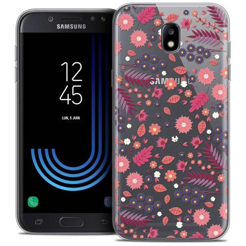 "Coque Crystal Gel Samsung Galaxy J7 2017 J730 (5.5"") Extra Fine Spring - Printemps"