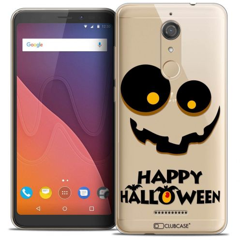 "Coque Crystal Gel Wiko View (5.7"") Extra Fine Halloween - Happy"
