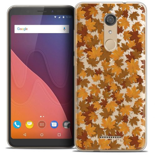 "Coque Crystal Gel Wiko View (5.7"") Extra Fine Autumn 16 - Feuilles"