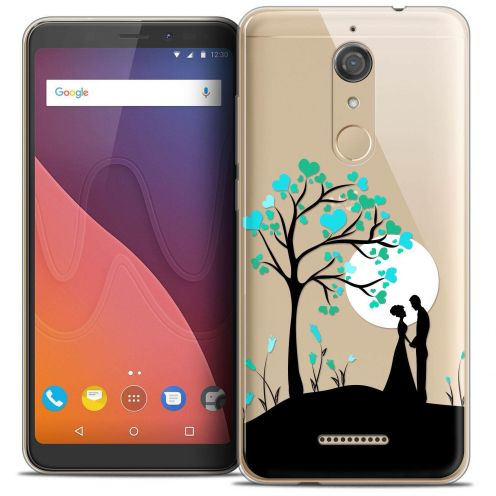 """Coque Crystal Gel Wiko View (5.7"""") Extra Fine Love - Sous l'arbre"""