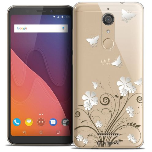 "Coque Crystal Gel Wiko View (5.7"") Extra Fine Summer - Papillons"