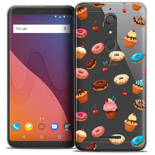 "Coque Crystal Gel Wiko View (5.7"") Extra Fine Foodie - Donuts"