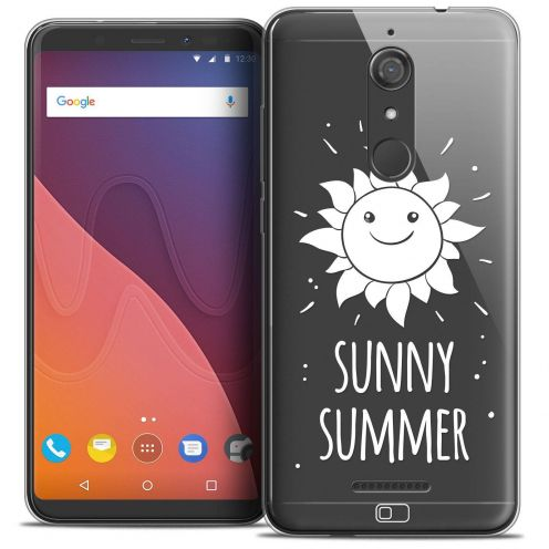 "Coque Crystal Gel Wiko View (5.7"") Extra Fine Summer - Sunny Summer"