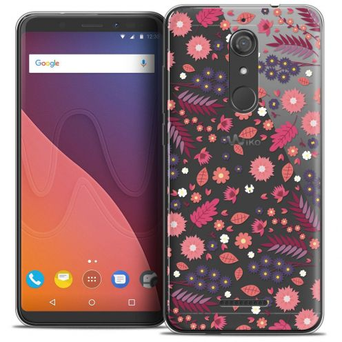 "Coque Crystal Gel Wiko View (5.7"") Extra Fine Spring - Printemps"